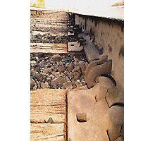Inside Rail Photographic Print