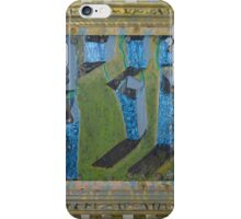 Orchard Of Frog Boxes - Framed Abstract iPhone Case/Skin