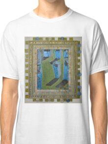 Orchard Of Frog Boxes - Framed Abstract Classic T-Shirt