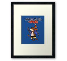 Adventure-Oooie Framed Print