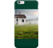 The little white house  iPhone Case/Skin