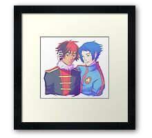 Cheese Chilli Dogs Framed Print