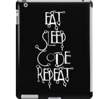 developer eat sleep code repeat iPad Case/Skin