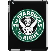 2nd Starbucks to the Right iPad Case/Skin