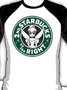 2nd Starbucks to the Right T-Shirt