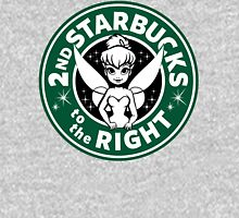 2nd Starbucks to the Right Womens Fitted T-Shirt