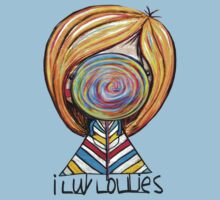 I LUV LOLLIES! Baby Tee