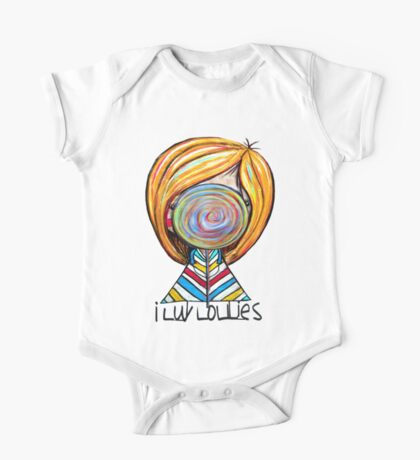 I LUV LOLLIES! Kids Clothes