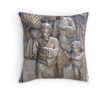 We Dance Honoring Ancestors Throw Pillow