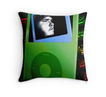 Digital Passions Collide Throw Pillow