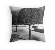 Three Trees - Madrid Throw Pillow