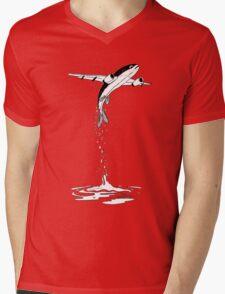 Flying Fish. Mens V-Neck T-Shirt