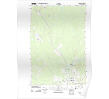 Maine USGS Historical Map Ashland 20110907 TM Poster