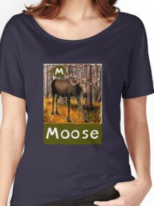 M is for Moose Women's Relaxed Fit T-Shirt