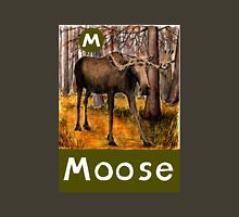 M is for Moose Unisex T-Shirt