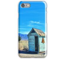Cute Outhouse iPhone Case/Skin