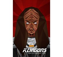Klingon Photographic Print