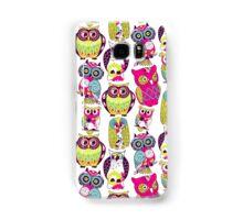Neon Owls Samsung Galaxy Case/Skin