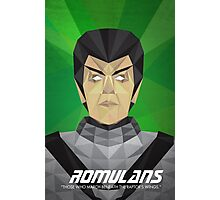 Romulans Photographic Print