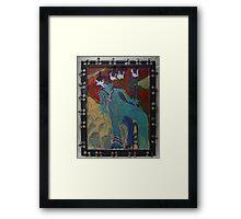 Allmarine - Abstract Framed Print