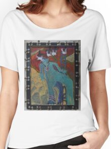 Allmarine - Abstract Women's Relaxed Fit T-Shirt