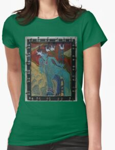 Allmarine - Abstract Womens Fitted T-Shirt