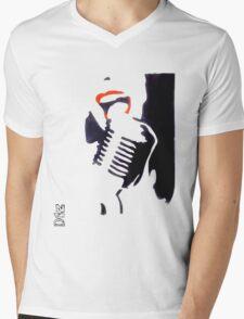 dGZ Mens V-Neck T-Shirt