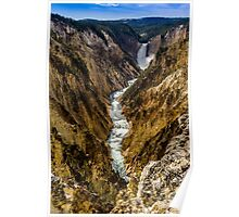 Lower Falls of Grand Canyon of Yellowstone Poster