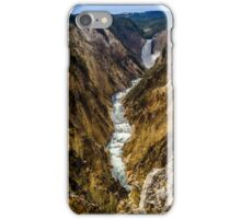 Lower Falls of Grand Canyon of Yellowstone iPhone Case/Skin