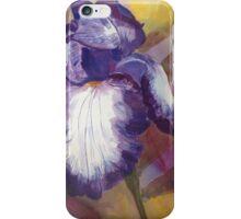 Bearded Lady Purple Iris iPhone Case/Skin
