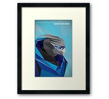Garrus Vakarian Framed Print