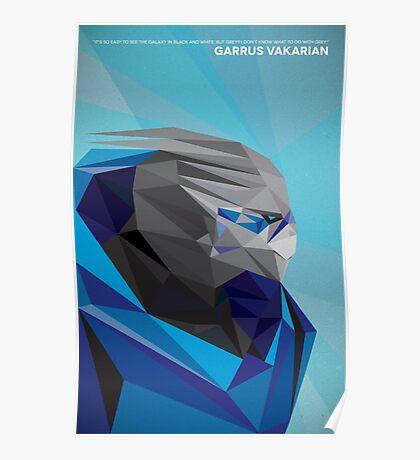 Garrus Vakarian Poster