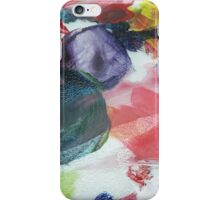 Palette; Paint Smudged iPhone Case/Skin