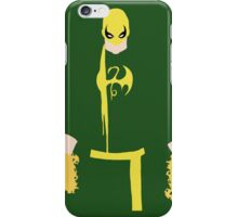 Iron Fist Minimalism iPhone Case/Skin