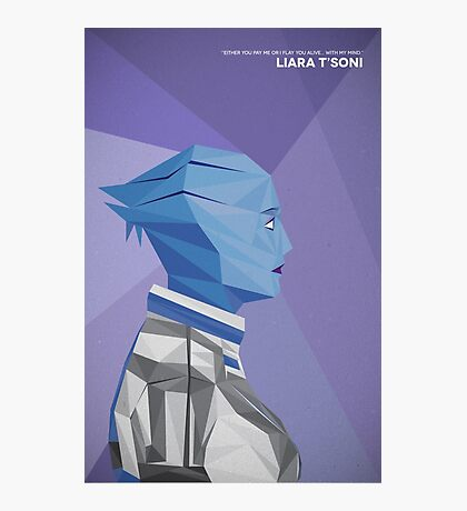 Liara T'Soni Photographic Print