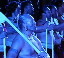 Maori Chief by Johindes