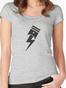 Bolt Piston Women's Fitted Scoop T-Shirt