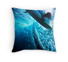 Clouds to Clear Skies Throw Pillow