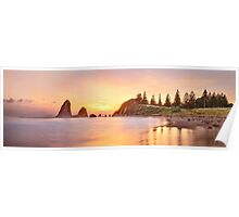 Glasshouse Rocks, Narooma, New South Wales, Australia Poster