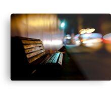 bench@night Metal Print