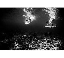 Synchronized Diving  Photographic Print
