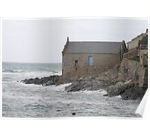 Old Lifeboat House Poster