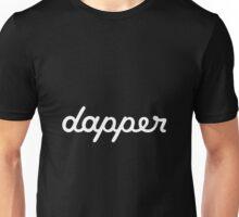 dapper (white) Unisex T-Shirt