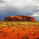 Passing storm over Uluru... by Keiran Lusk