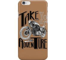 TAKE YOUR DEUS AND LET'S ADVENTURE iPhone Case/Skin