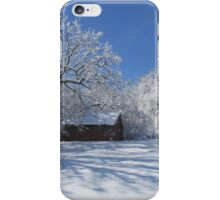 Winters  Shed iPhone Case/Skin