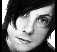 Frank Iero Pencil Drawing by booters