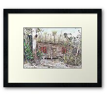 Sue's Studio Framed Print