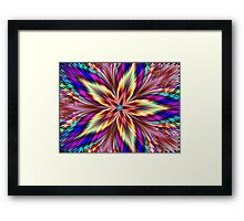 Erotic Orchid Framed Print