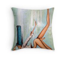 pigment Throw Pillow